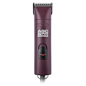 Andis Ultra Edge Super 2-Spd Clipper with #10 Blade, Burgundy