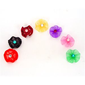 Gem Ring Bows, Package of 50