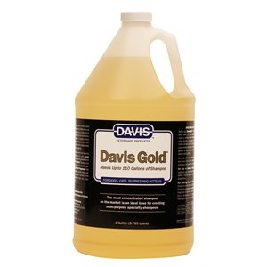 Davis Gold Shampoo, Gallon