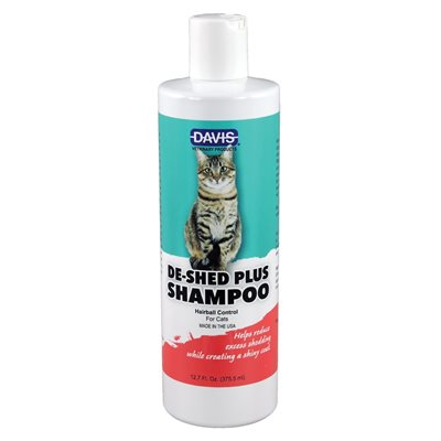 DeShed PLUS CAT Shampoo - 12oz
