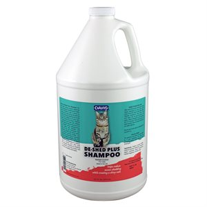 DeShed PLUS Shampoo for CATS - Gallon