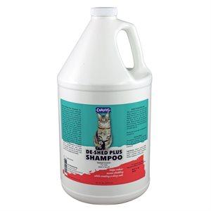 DeShed PLUS Shampoo for CATS - Gallon