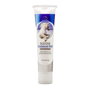 Equine - Liniment Rub 4.5 oz.