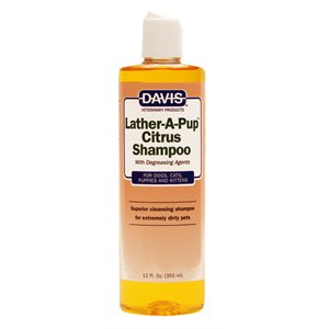 Lather-A-Pup Citrus Shampoo, 12 oz.
