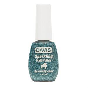 Sparkling Nail Polish, 0.5 oz.- Ocean Blue