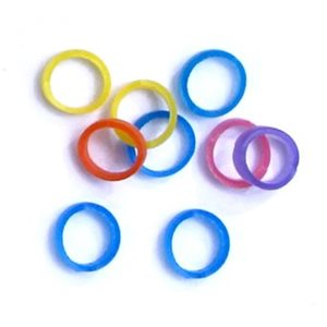 Neon Rosin-Coated Grooming Bands - 2 sizes available