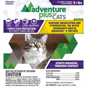 Adventure Plus for Cats- Medium (9+ lbs)