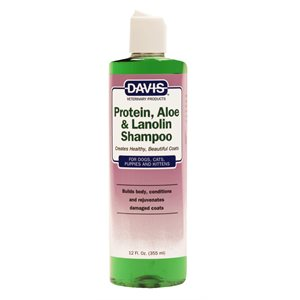 Protein, Aloe & Lanolin Shampoo, 12 oz