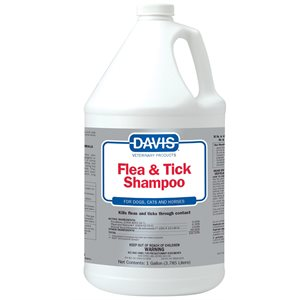 Flea & Tick Shampoo, Gallon
