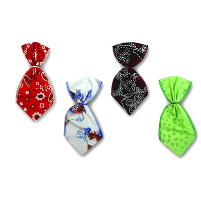 Fashion Bowser Ties - 12 Small Assorted Designs