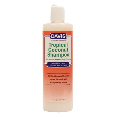 Tropical Coconut Shampoo, 12 oz